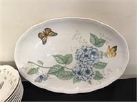 """Lenox China - """"Butterfly Meadow"""" Pattern"""
