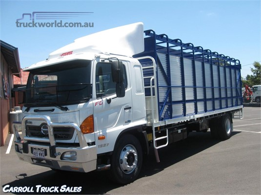 2007 Hino 500 Series 1527 FG Carroll Truck Sales Queensland - Trucks for Sale