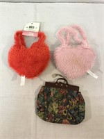 Vintage doll purses-large collection