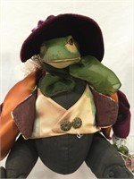 Katherines Collection vintage Yaruso Frog w/