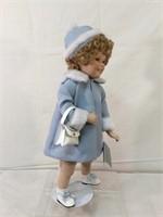 Shirley Temple ,Danbury Mint 1996 porcelain doll