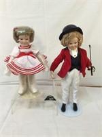 Shirley Temple ,Danbury Mint dolls