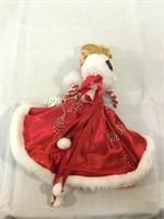 Madam Alexander vintage Coca-Cola Christmas doll