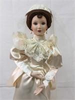 Ashton Drake Elizabeth & Betty wedding dolls