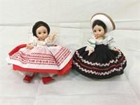 Madam Alexander dolls, Russia,Mexico & more