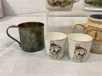 Childrens vintage cups & more