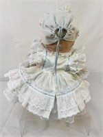 Composition antique baby doll