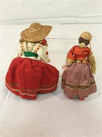 Collection of Ethnic dolls