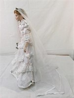 Danbury Mint Margaret Bridal doll & more