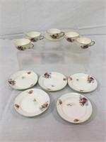Gold Castle Japanese childrens plates & more