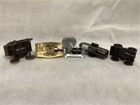 Metal vintage pencil sharpeners