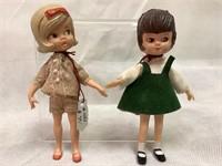 Hasbro vintage Dollyn Darling dolls, 1965