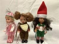 2001 Kelly Dolls, Wizard of Oz, Nutcracker