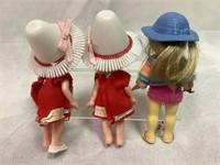 Mattle Liddle, Suki &n Skediddle dolls 1960's
