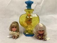 Mattel Kiddle, Kobgne w/ extra dolls