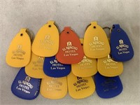 Las Vegas Hotel Vintage Keychains