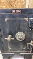 """Sinn safe on steel wheels, dimensions 24"""" Tall,"""