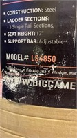 Big Game Brand Guardian XL tree stand with