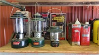 Coleman lanterns and fuel