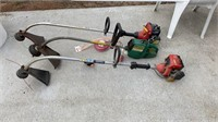 Lot of 3 Weed whackers with line