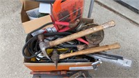 Lot of tools. roll around cart NOT included