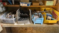 Cabinets loaded with contents. CONTENTS ONLY