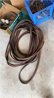 Lot with acetylene gauges, hoses and tips with