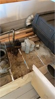 Contents of loft including, copper pipe, siding,