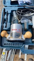 Bosch plunge router in case