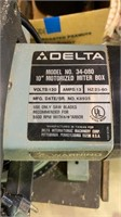 Delta miter saw, table included