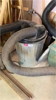 Grizzly dust collector system with ducting