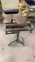 Lot of 2 roller stands