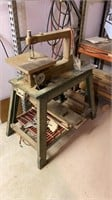 Craftsman scrollsaw on shop built stand - part or