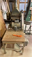 Older Heavy Duty planer on ship built stand