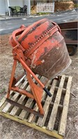 Montgomery Ward cement mixer