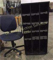 CD Display Stand, Office Chair