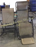 Outside Lounge Chair and Rocking Chair