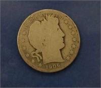 1906 Barber Half