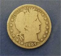 1907 Barber Half