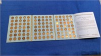 1909-1945 Lincoln Head Cent Collection Book
