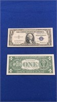 1935 F & 1957-a,b Series $1 Silver Certificates