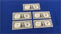 1957-b Series $1 Silver Certificates