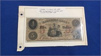 1834 Columbia Sc Bank Note