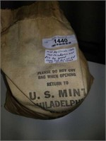 1960 Mint Bag Lincoln Cents