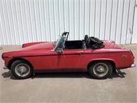1969 MG Midget - REVERSE AUCTION