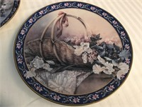 Six Lena Liu First Issue Collector Plates