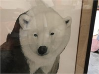 """Diane Coleman """"Arctic Polar Bear"""" Signed"""