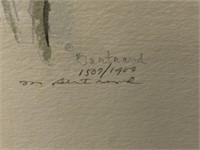 M. Bertrand - Double Signature Lithographs
