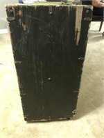 Standard Issue Military Foot Locker with Top Tray