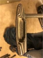 Cadabag Golf Bag and Assorted Wilson Irons